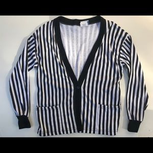 Ronnie Togs Vintage B&W Striped Shirt